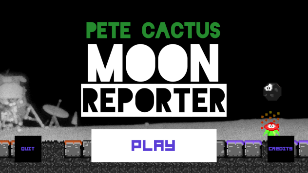 Pete Cactus Moon Reporter Start Menu